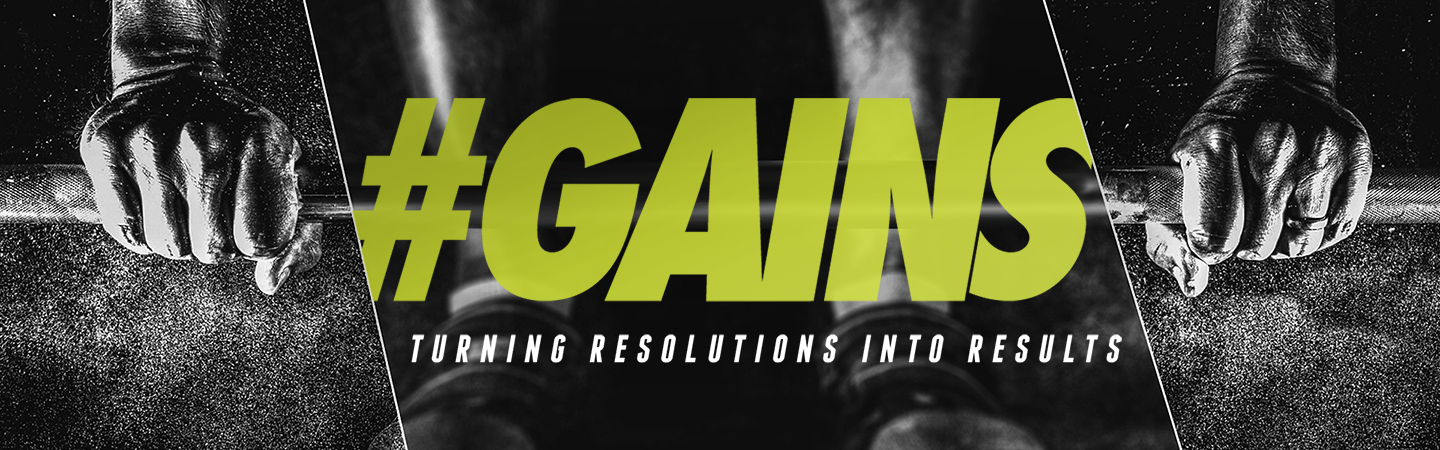 #GAINS: Turning Resolutions Into Results